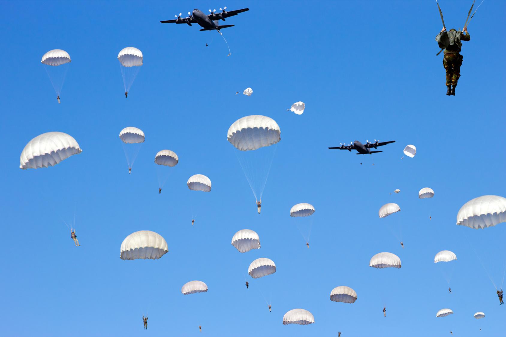 Fallschirm private Haftpflichtversicherung