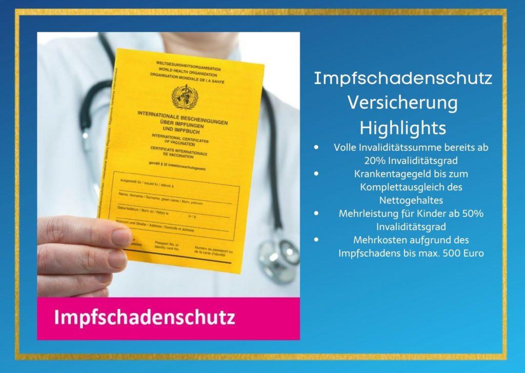 Impfschaden-Versicherung Versicherung nach einem Impfschaden von asspario Die Bayerische